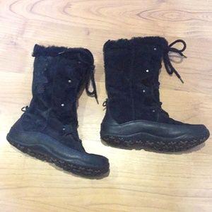 North face primaloft 6.5 black winter boots